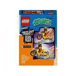 LEGO City Stuntz Stunt Bike da Demolizione con Moto Giocattolo con Meccanismo a 60297, , large