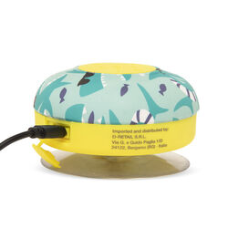 Speaker Bluetooth da doccia - fantasia verde acqua occhiali, , large