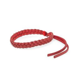 Coppia di bracciali antizanzare in similpelle - Colore rosso, rosso, large