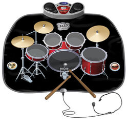 Tappeto musicale batteria, , large