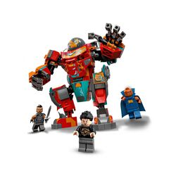 LEGO Marvel Iron Man Sakaariano di Tony Stark, da Action Figure ad Autovettura, 76194, , large