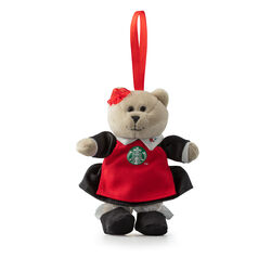 Ornament Bear Red, , large