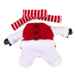 Costume natalizio per cani - Vestito natalizio con sciarpa, , large