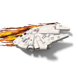 Lampada da parete Star Wars Millennium Falcon, , large