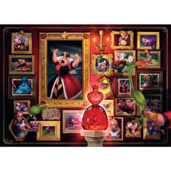 Ravensburger Puzzle 1000 pezzi - VILLAINOUS:QUEEN OF HEARTS, , large