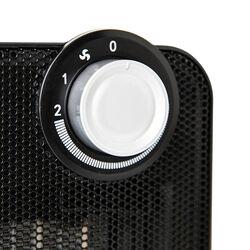 Mini stufa elettrica con resistenza in ceramica - Colore nero, nero, large