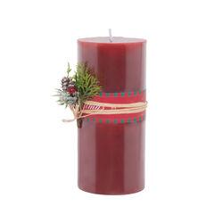 Candela natalizia profumata - Misura grande, , large