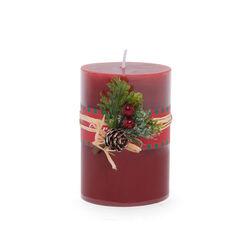 Candela natalizia profumata - Misura media, , large