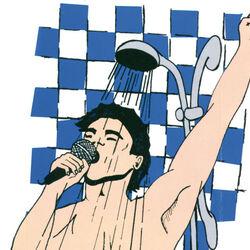Radio AM/FM da doccia a forma di microfono, , large