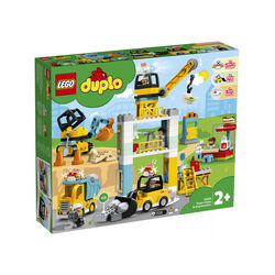 LEGO Duplo Cantiere edile con gru a torre 10933, , large
