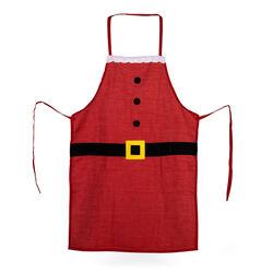 Grembiule da cucina Babbo Natale, , large