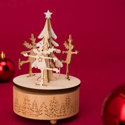 Carillon natalizio in legno, , large