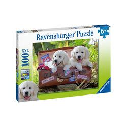 Ravensburger Puzzle 100 pezzi 10538 - Meritata pausa, , large