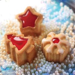 Stampo per 15 biscotti Magic Winter, , large