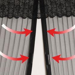 Zanzariera Magnetica nera, , large