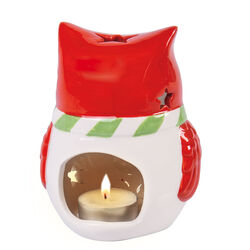 Porta tealight gufo, , large