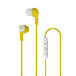 Auricolari Bluetooth - colore Giallo, giallo, large