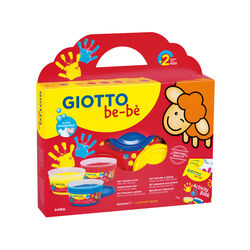 Giotto be-bè Set Colori a dita, , large