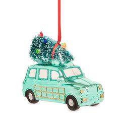 Decorazione natalizia auto in vetro, , large