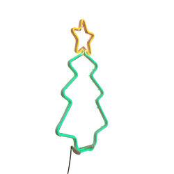 Albero di Natale luminoso da esterno, , large