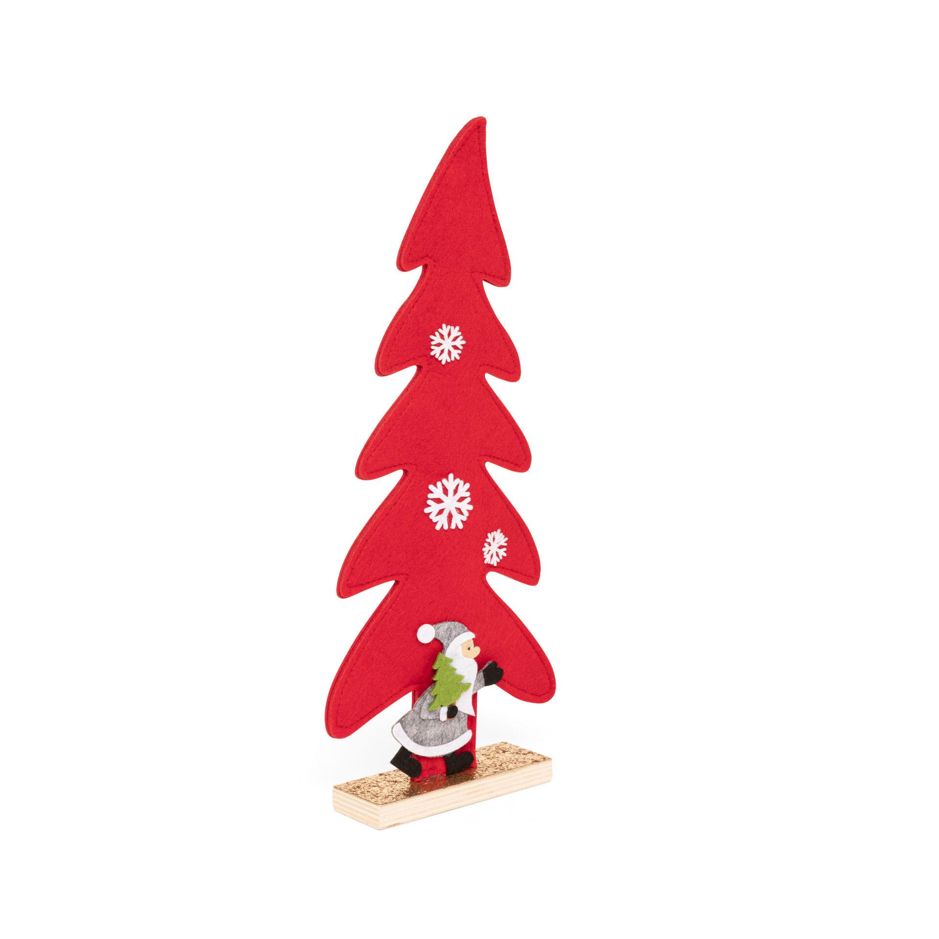 Sapin de Noël en feutre, , large