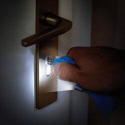 Supporto per chiave con luce, , large
