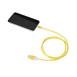 Cavo dati USB Type - C linea Pantone, giallo, giallo, large