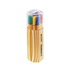 Fineliner - STABILO point 88 - Twin Pack - Astuccio da 20 - Colori assortiti, , large