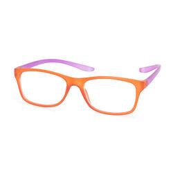 Occhiali da lettura arancioni/viola, , large