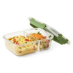 Porta pranzo in vetro 1520 ml, , large