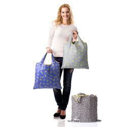 Borsa shopping bag salvaspazio, , large