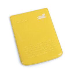 Porta passaporto - Colore giallo, , large