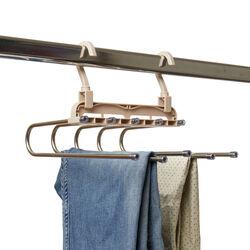 Gruccia per pantaloni salvaspazio, , large