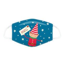 Copri mascherina natalizio riutilizzabile, , large