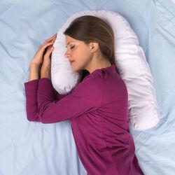 Cuscino anatomico per dormire su un fianco, , large