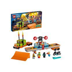 LEGO City Stuntz Truck dello Stunt Show, Set da Costruzione con Moto giocattolo 60294, , large