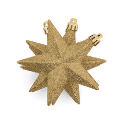 Decorazioni natalizie a forma di stella, set di 6 pz, , large