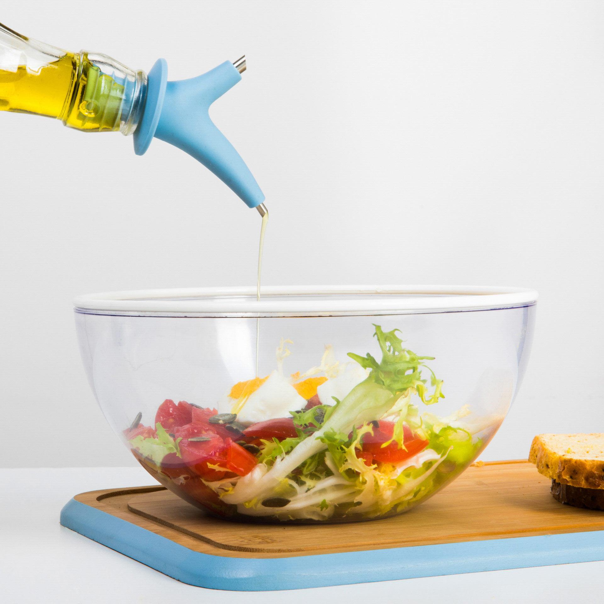 Bouchon doseur en silicone pour huile à double bec, , large