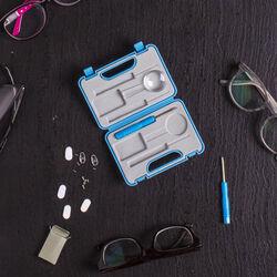 Valigetta con set ripara occhiali, , large