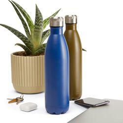 Bottiglia termica in acciaio inox 750 ml, colore blu, , large