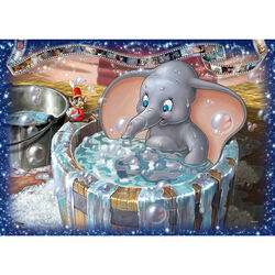Ravensburger Puzzle 1000 pezzi 19676 - Disney Classics Dumbo, , large