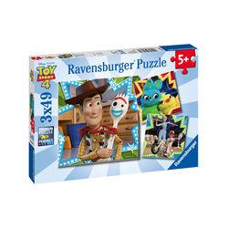Ravensburger Puzzle 3x49 pezzi 08067 - Toy Story, , large