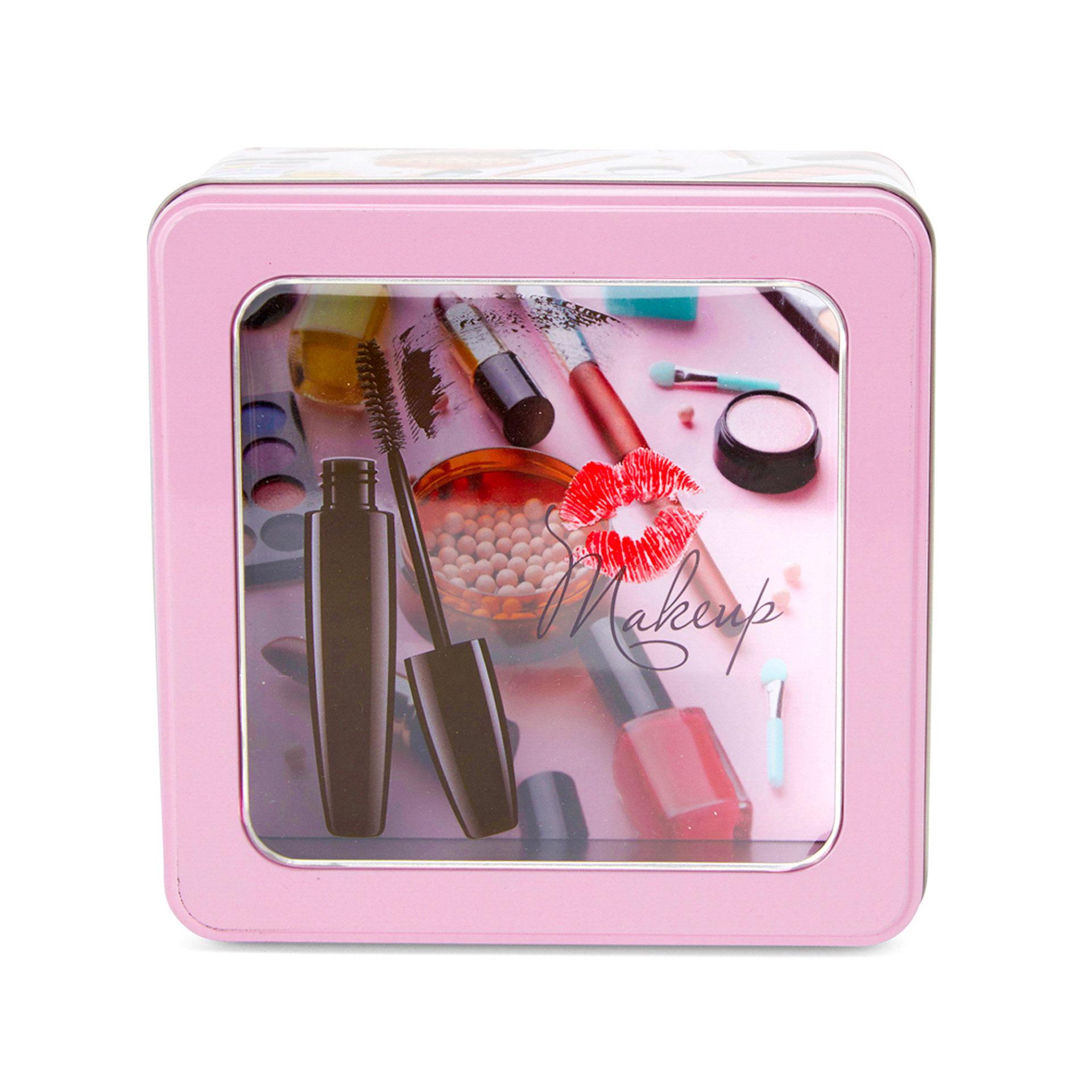Boîte métallique pour les cosmétiques, , large