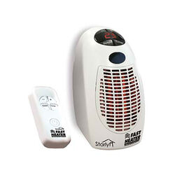 Visti in TV Mini stufetta elettrica con telecomando starlyf fast heater, , large