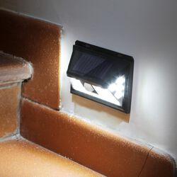 Punto luce da esterno con pannello solare e sensore di movimento, , large