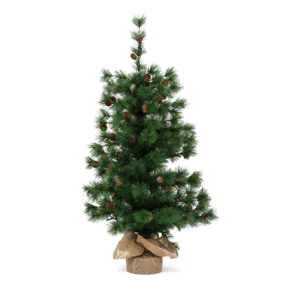 Sapin de Noël avec lumières alimentées à piles, , large