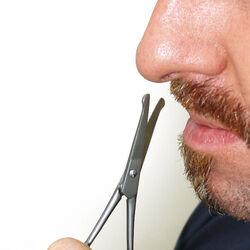 Forbicine per peli del naso, , large