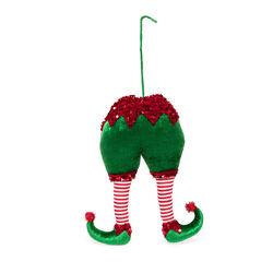 Elfo decorativo per albero di Natale 28 cm, , large