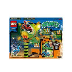 LEGO City Stuntz Competizione Acrobatica, Set con 2 Moto Giocattolo con Meccanis 60299, , large
