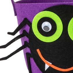 Secchiello porta dolcetti per Halloween - Ragno, , large